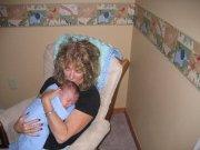 Granny Shari and Granbaby Tyler