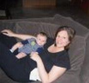 New mommy Karen & new baby Tyler